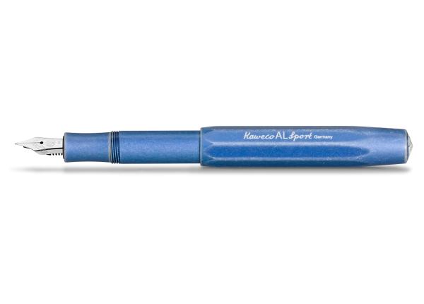Kaweco AL SPORT Stonewashed Füllhalter Blau