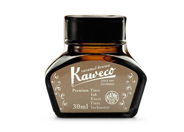 Kaweco Tintenglas Karamellbraun 30 ml