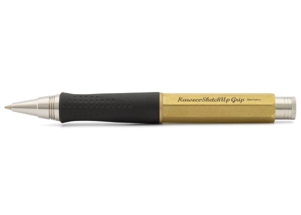 Kaweco SKETCH UP Kugelschreiber Grip Messing
