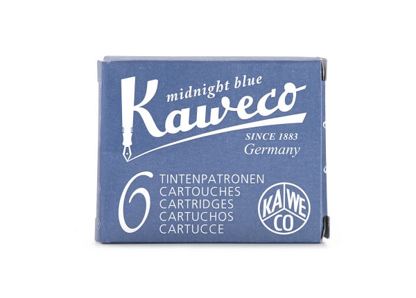 Kaweco Tintenpatronen 6-Pack Mitternachtsblau