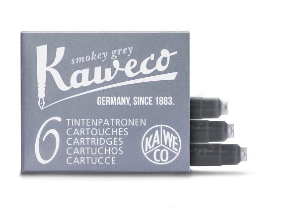 Kaweco Tintenpatronen 6-Pack Rauchgrau