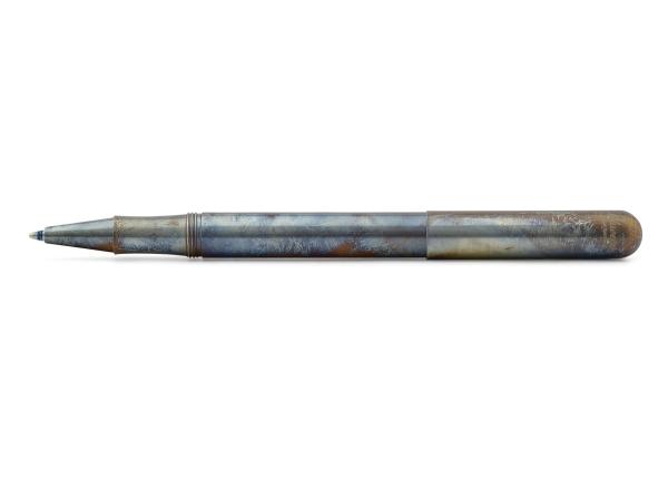 Kaweco LILIPUT Kugelschreiber mit Kappe Edelstahl