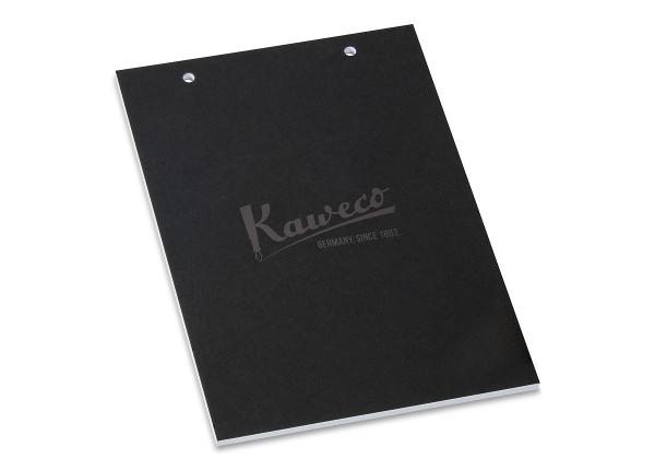 Kaweco DECO Testblock A5, gelocht, mit Deckblatt
