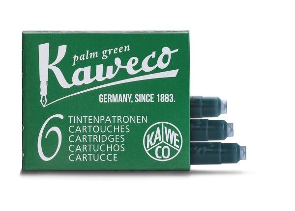 Kaweco Tintenpatronen Palmengrün 6-Pack