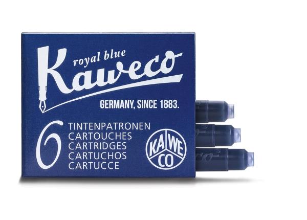 Kaweco Tintenpatronen 6-Pack Königsblau