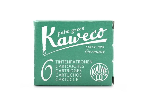 Kaweco Tintenpatronen 6-Pack Palmengrün