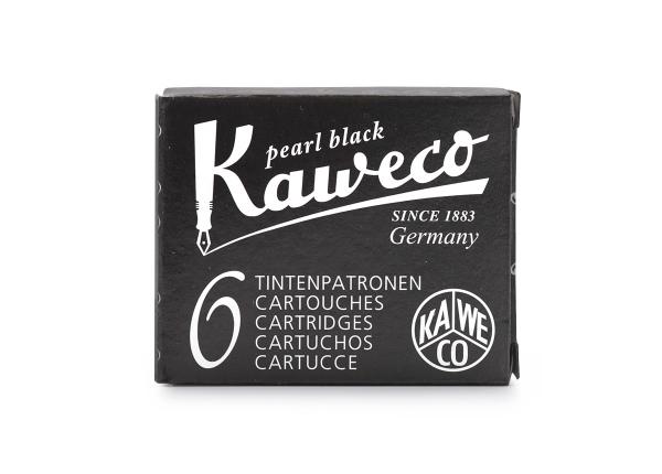 Kaweco Tintenpatronen 6-Pack Perlenschwarz