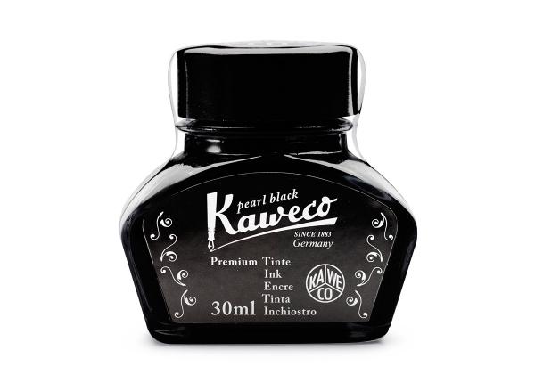 Kaweco Tintenglas Perlenschwarz 30 ml