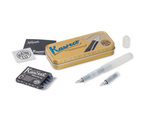 Kaweco KALLIGRAFIE SPORT Set S Natural Coconut