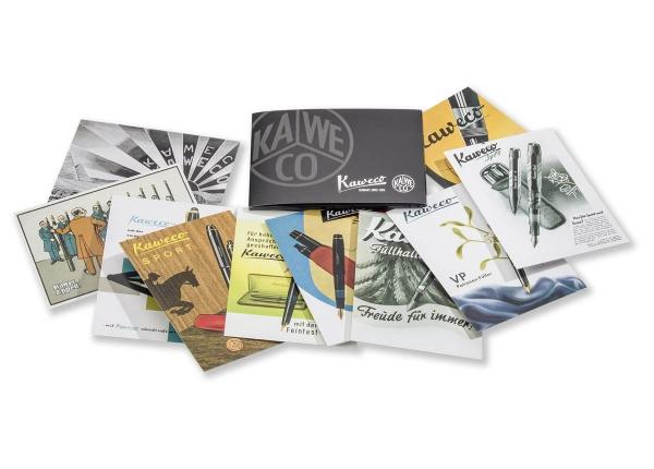 Kaweco Postkarten-Set Historische Werbung