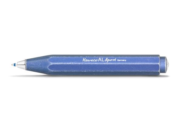 Kaweco AL SPORT Stonewashed Kugelschreiber Blau