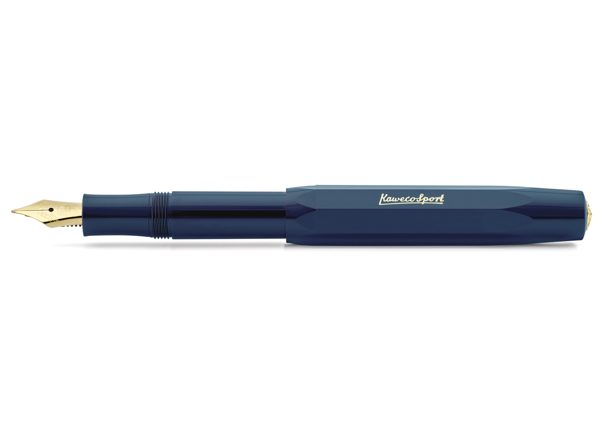 Fein Kaweco Sport FROSTED Füllhalter Fine Lime   F