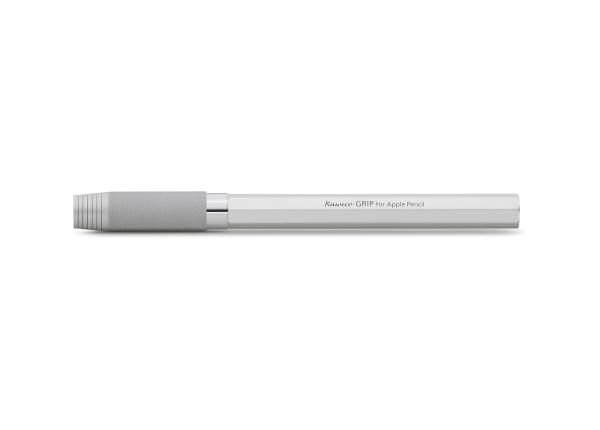 Kaweco Stiftecover GRIP für Apple Silber