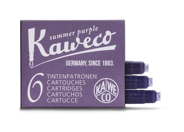 Kaweco Tintenpatronen Sommerlila 6-Pack
